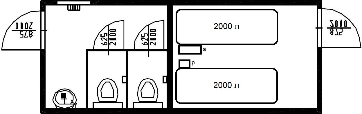 туалет автономный